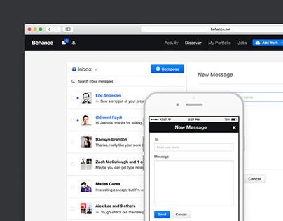 Behance Inbox 2.0