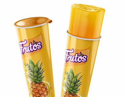 Fruto's Ice Lolly Packaging