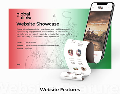 Global Mirex - Website Showcase