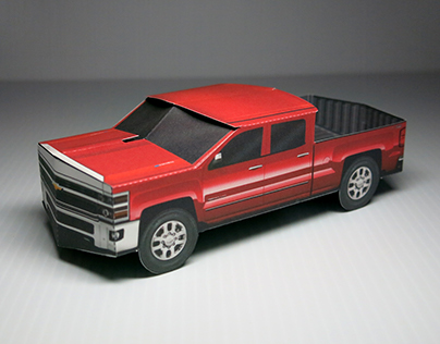 Chevy Silverado pop-up