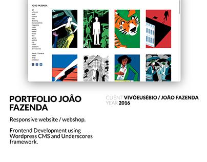 Portfolio João Fazenda Frontend Development