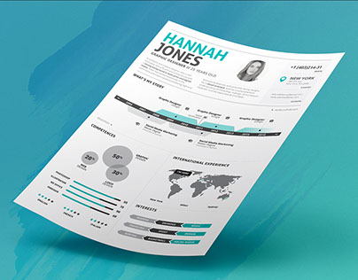 Infographic Resume/Cv Volume 2