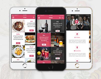 Bonjour Restaurant Mobile App