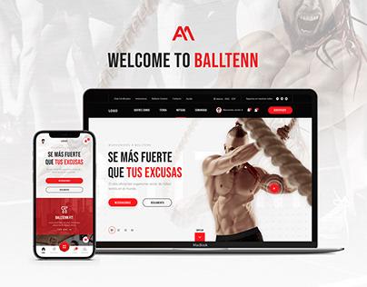 Balltenn: Football tennis and sports platform