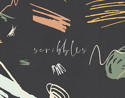 print & pattern : scribbles
