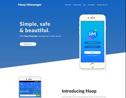 Hoop Messenger Mockup