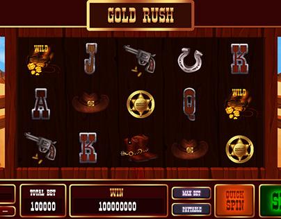 """Gold Rush"" Slot Game"