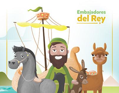 Embajadores del Rey | Character Design