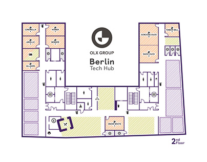 OLX Group Berlin – Floor Plan