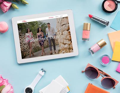 Centro Moda & CModa Responsive Fashion Website