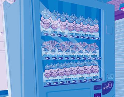 Japan Illustrated - Vending Machine Slime