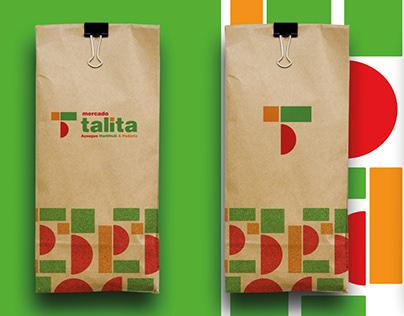 Mercado Talita - Brading/Identidade Visual