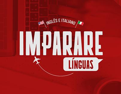 [Logotipo] Imparare Línguas