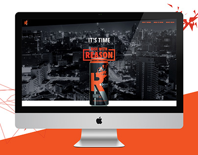Reboost Energy Drink Website & App Design