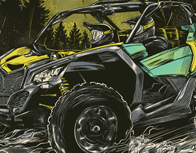 Second Commission Project for Nitro Mountain Offroad