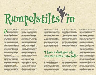 Grimm Fairy Tale Rumpelstiltskin