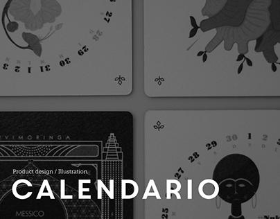 CALENDARIO 2018   Product Design / Illustration