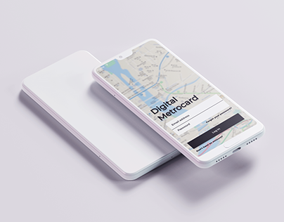 UX & UI Design - Digital Metro-card