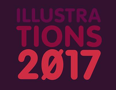 Illustrations 2017 (selection) | Beni Ruiz