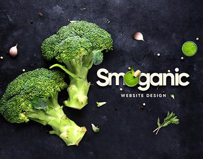 Smoganic Website Design
