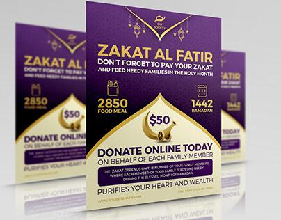 Zakat Flyer - Islamic Flyer Template