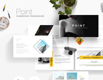 Point Minimal Presentation Template