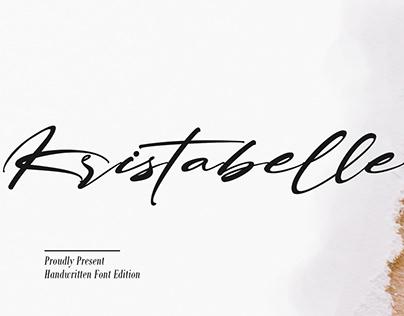 Free Kristabelle Handwritten Font