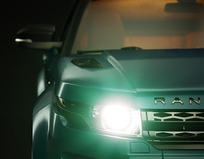 3D Studio Rendering - Range Rover Evoque