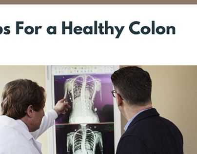 5 Tips for a Healthy Colon - Blog Header