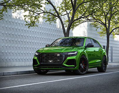 AUDI RS Q8 - Full CGI