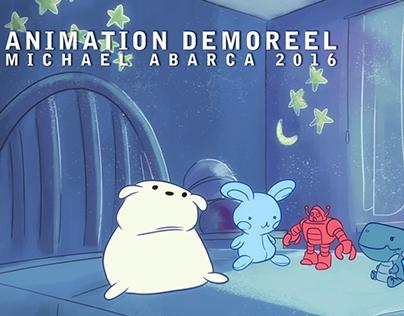 Animation Demoreel Michael Abarca 2016