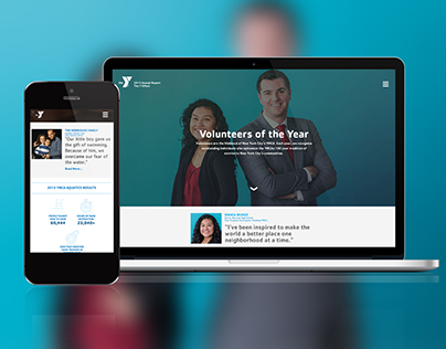 Greater New York's YMCA Annual Report Website
