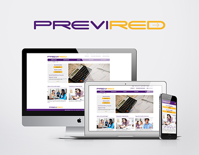 PREVIRED | Rediseño web