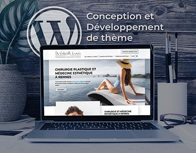 [Thème Wordpress] - Conception - Développement web
