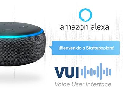 Amazon Alexa. VUI Skill. Crowdfunding and invest.