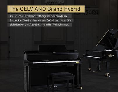 Casio Grand Hybrid Microsite