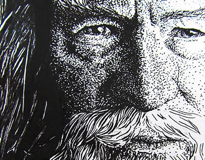 Gandalf Illustration