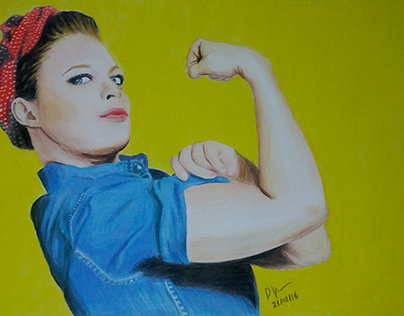 Ronda Rousey - We Can Do It - DRAWING