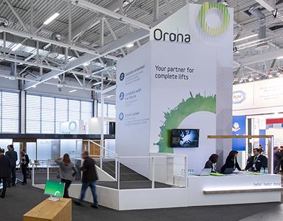 Orona stand (interlift 2015)