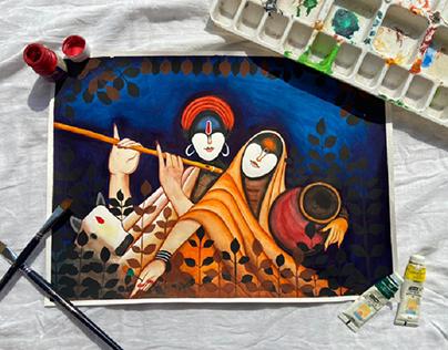 the epitome of love -Radha Krishna