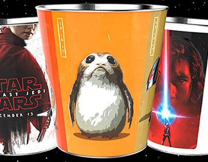 Star Wars: The Last Jedi Collectible Tins