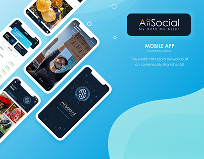 AiiSocial Mobile App Ui Case Study | Aiisma