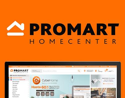 E commerce - Promart UX 2017