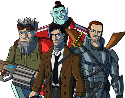 Beyond The Dice Character Designs