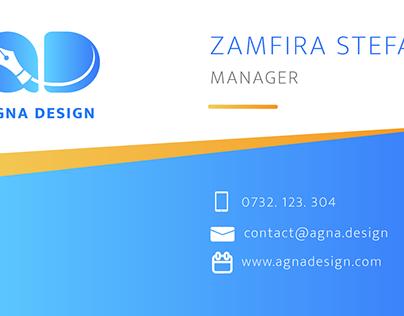 Agna Design Branding
