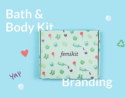 Bath & Body Kit Branding