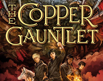 Magisterium - The Copper Gauntlet Cover