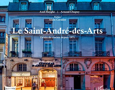 Livre sur le Cinéma Saint-André-des-Arts - Paris