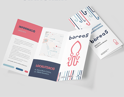 BÒREAS - Identidad visual