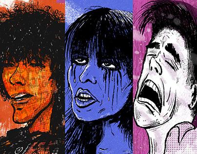 Spotlight Singer Series Illustrations